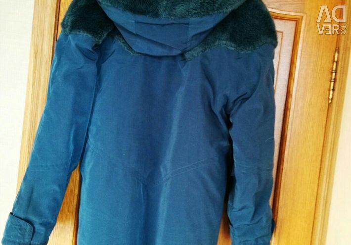 Зимний тeплый плащ  Веrghaus Git.  54-58