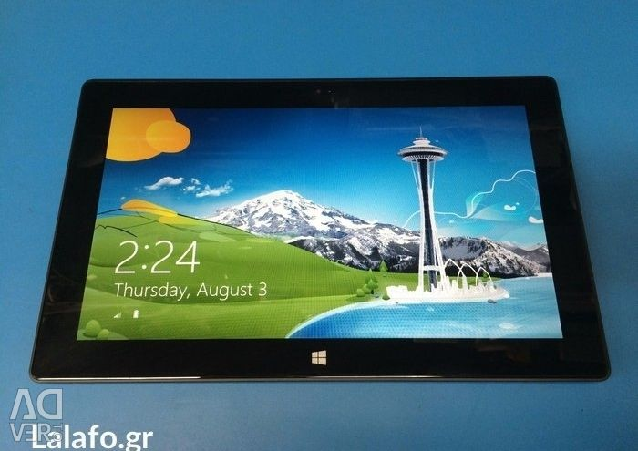 Microsoft surface rt 32gb - 10. 6in με πληκτρολόγιο η τιμή είναι