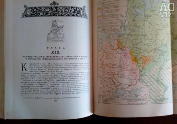 World history in ten volumes. Volume IV. 1958