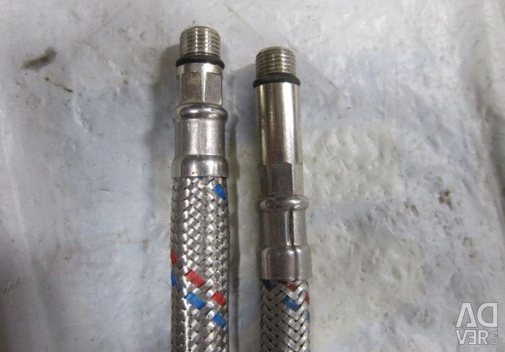 Flexible connection for the mixer