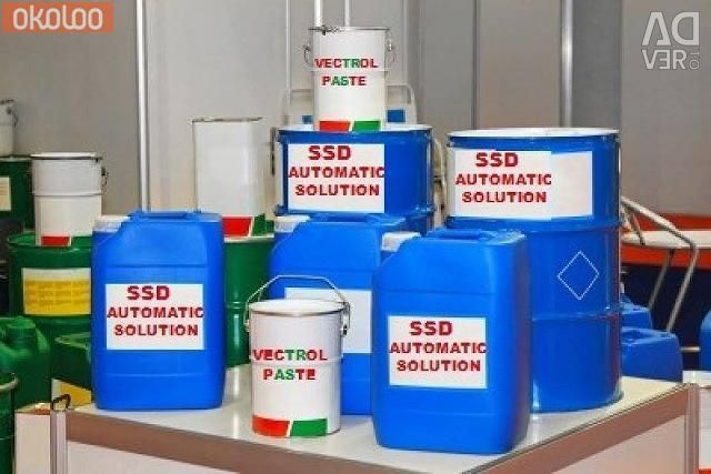 SSD SOLUTION CHEMICALS Activation powder delivery