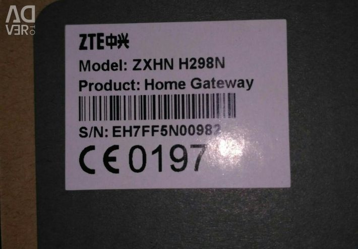 Маршрутизатор ZTE H298N