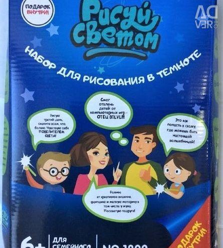 Tablete pentru copii Desenați cu lumină A4