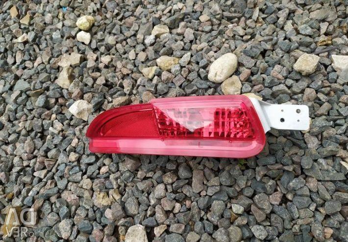 Rear bumper reflector L Honda Civic 5D 9 body