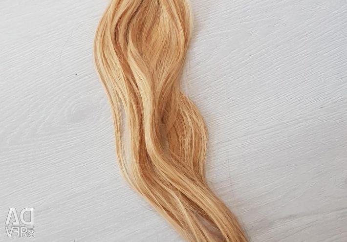 Hair for building blond 60cm