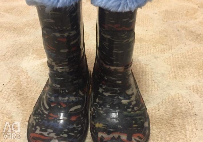 Καουτσούκ μπότες 22 μέγεθος
