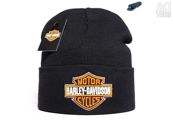 Шапка мужская Harley Davidson (черный)