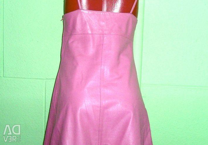 Rochie de vara din piele MOSCHINO