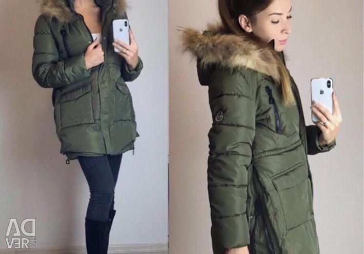 Jachetă lungă de iarnă Moncler