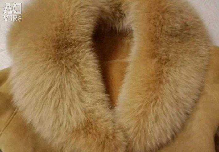 Дубленка женская/Полудубленка. Натуральная. Овчина