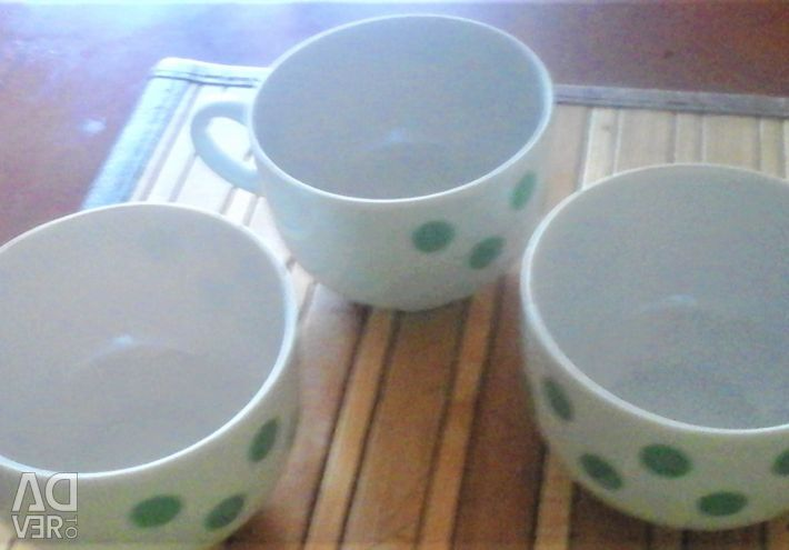 Coffee cups 3 pcs Dulyovo