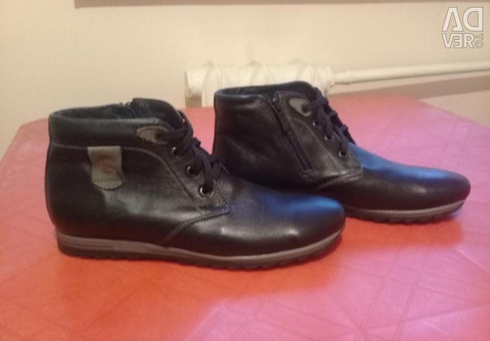 New, leather, winter 38 size