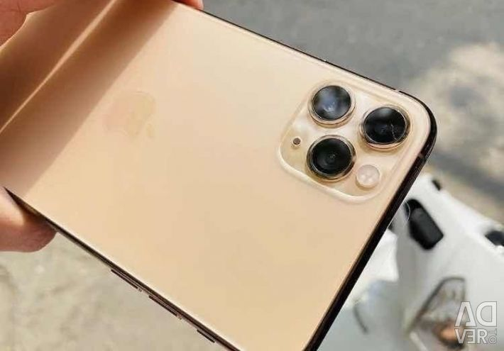 Apple iPhone 11 Pro Max 256GB Gold Unlocked CDMA G