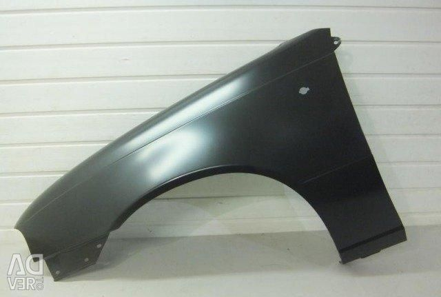 Front wing left, right, new not original