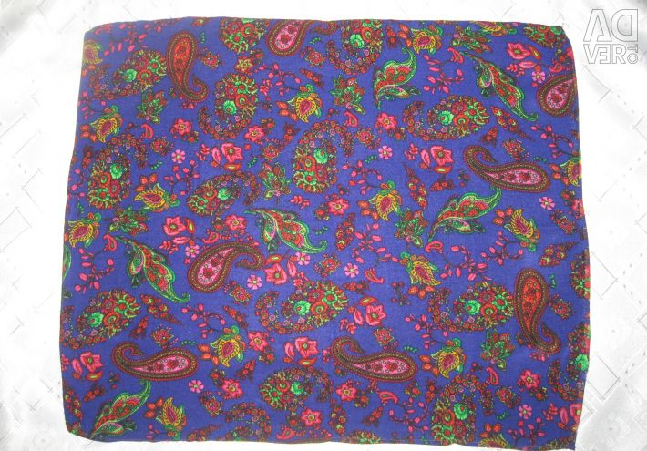 Decorative pillow case with paisley pattern