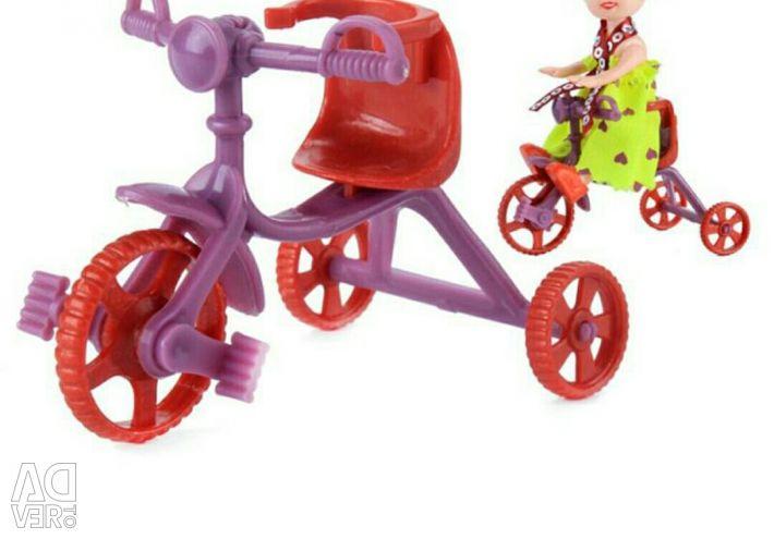 Bike baby Barbie.
