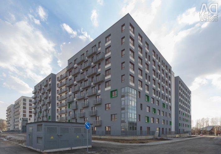 Apartment, 2 rooms, 61.1 m²
