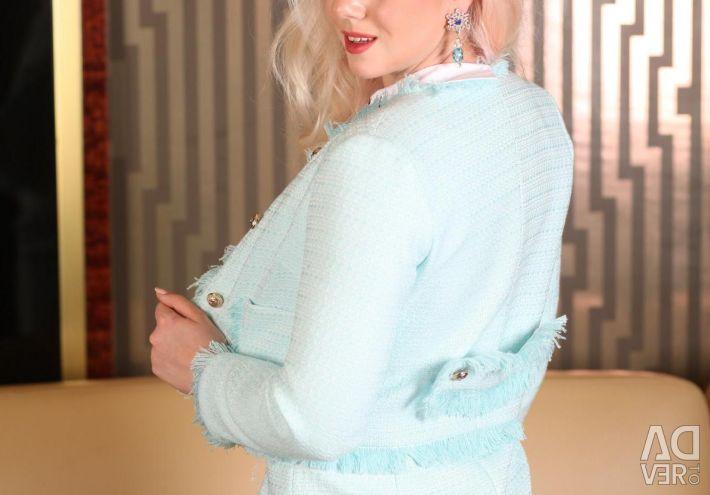 Κερδισμένο φόρεμα με σακάκι