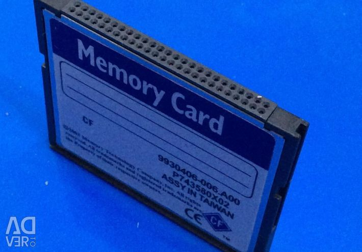 CF 4Gb Compact flash memory card large