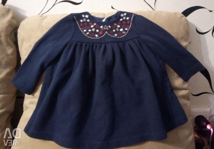 6-12 ay kızlar için elbise