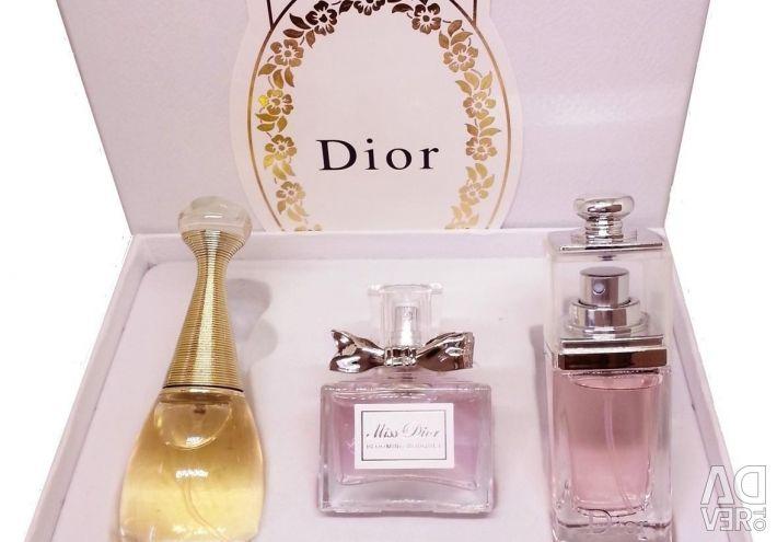 Δώρο Christian Dior 3 σε 30 ml.