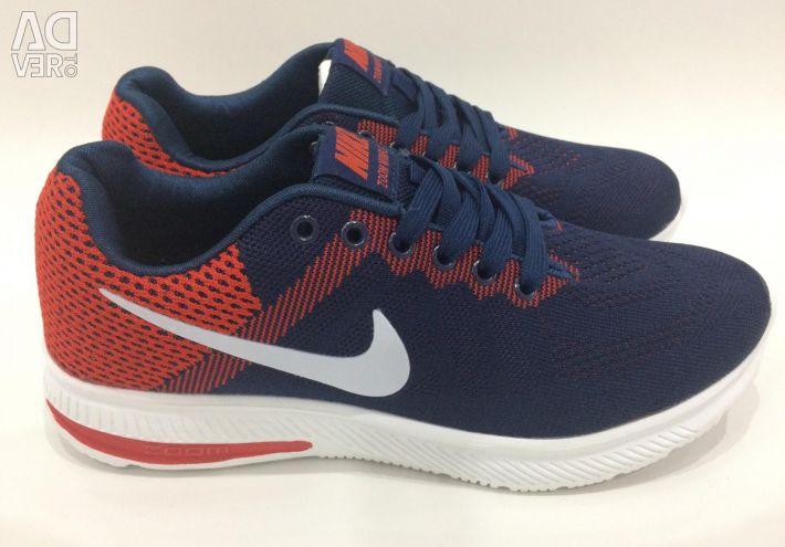 Сине-красные Nike Zoom Размеры все в наличии
