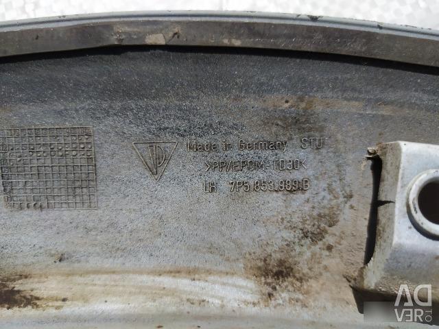 Молдинг бампера задний Porsche Cayenne 958
