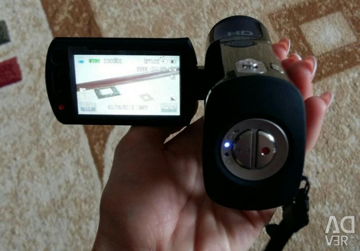 Digital video camera.