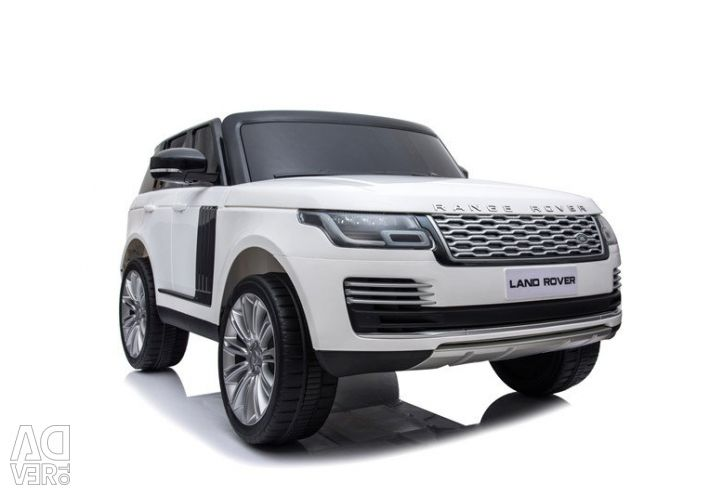 Children's electric car Range Rover HSE 4WD White