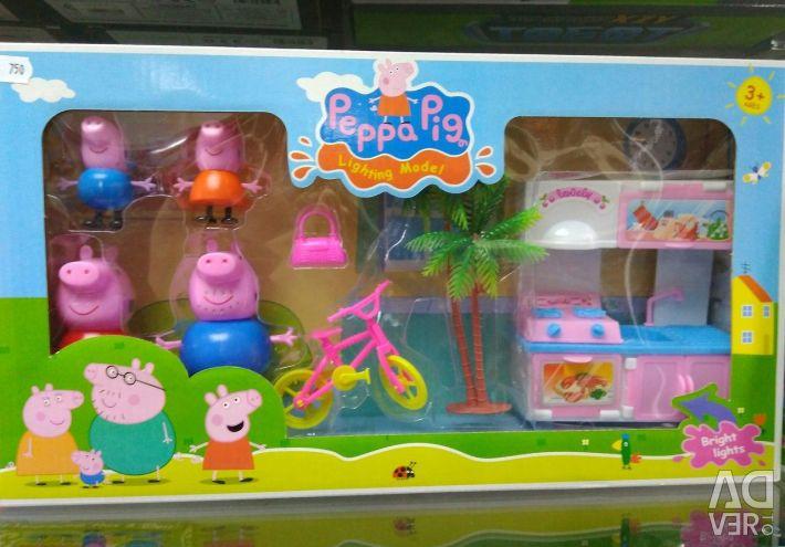 Setul de jocuri Peppa Pig St. Petersburg din St. Petersburg