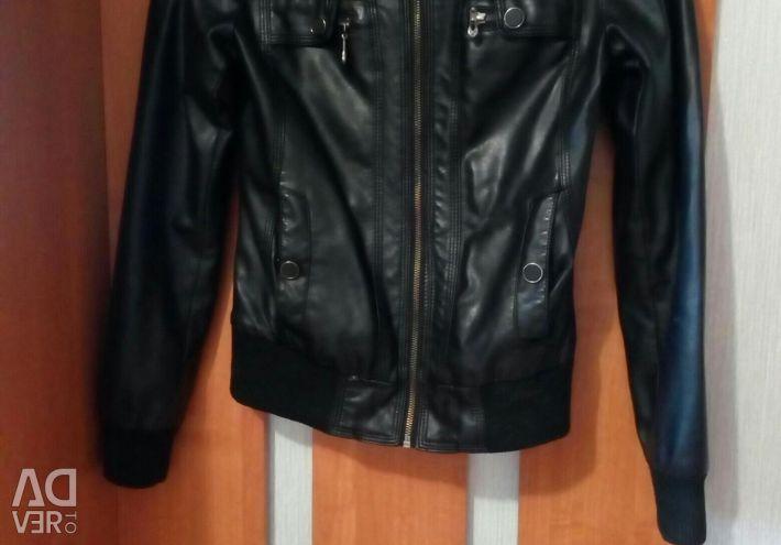Jachetă din piele