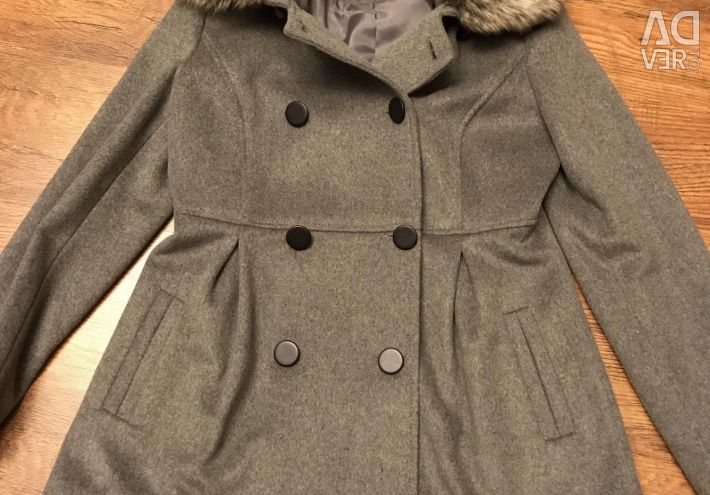 Coat Gray and White size 44,46