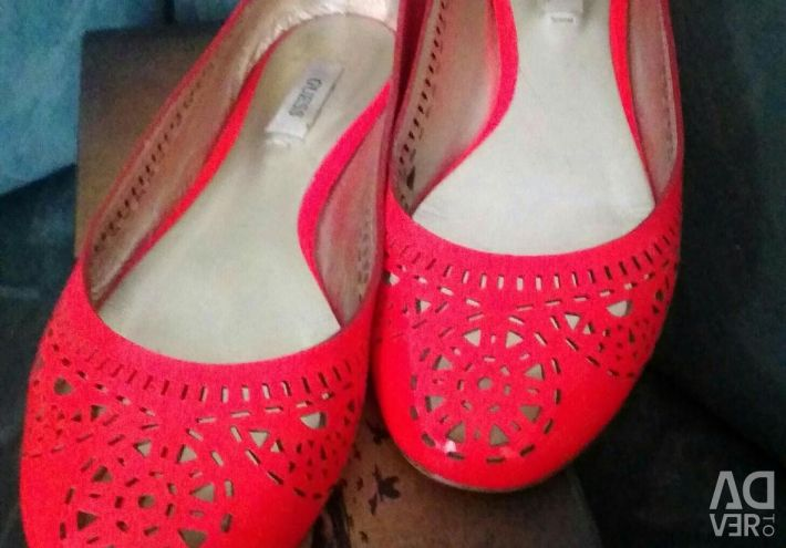 Ballet Flats (Leather)