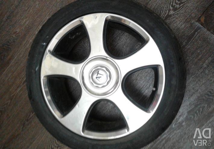Диски колесные хромированные