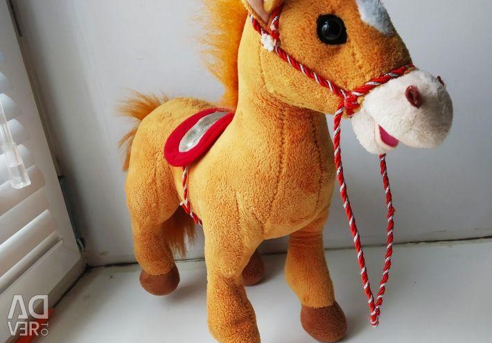 Το άλογο είναι μουσικό.