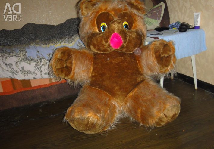 Іграшка м'яка ведмедиця велика