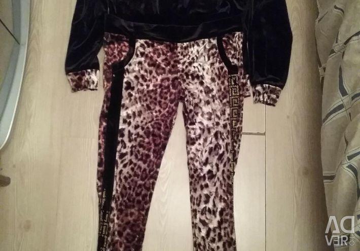 Versace Velvet Costume