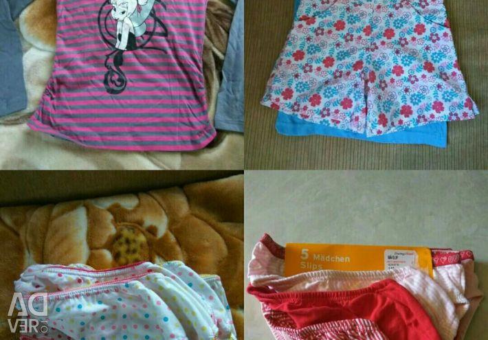 Linen for the girl, 140-152