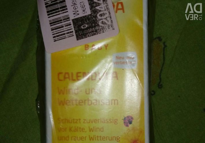 Balm Weleda protection from wind, cold for babies