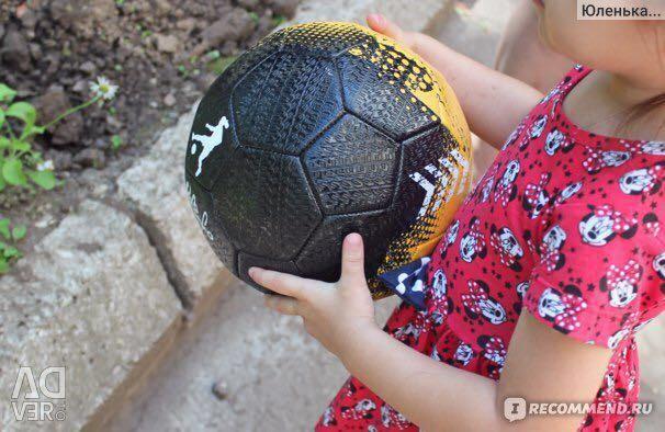 Street football ball magnet