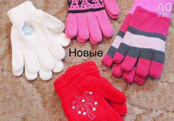 Pălării, mănuși, mănuși Noi și folosite