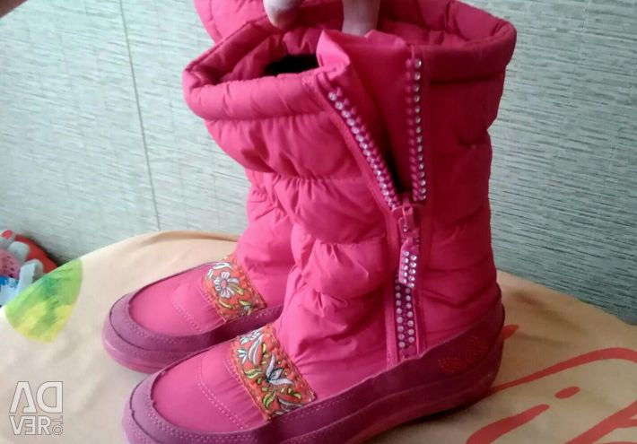 Boots winter-spring, shoes summer for the girl river 36i37