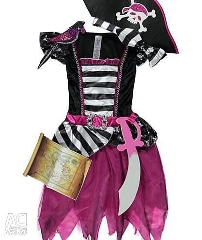 New Year Pirate Costume