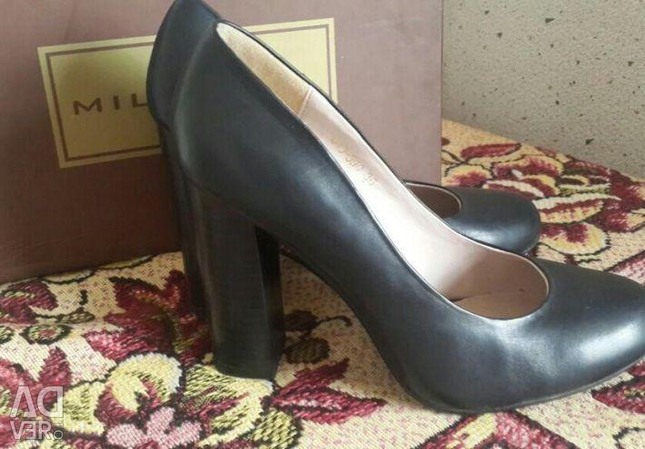 Ayakkabı natur deri