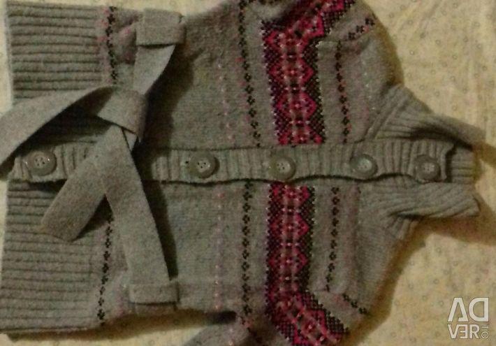 Waistcoat denim jacket for devas 3 years