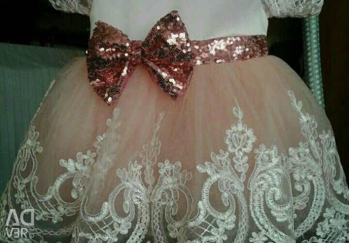 Dress elegant for the princess