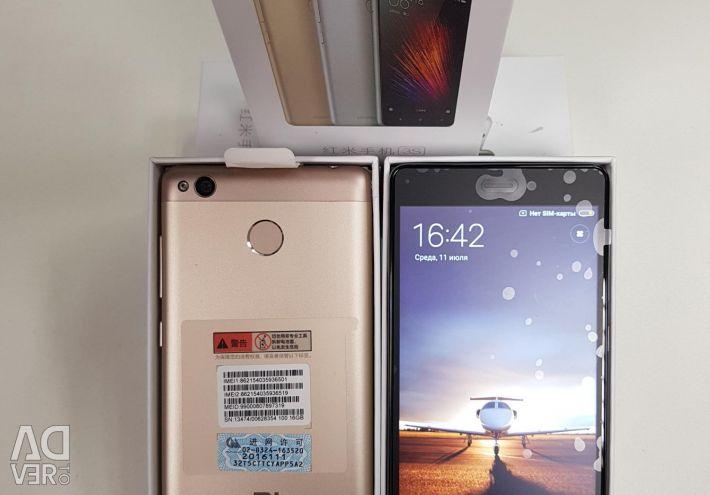 Xiaomi 3S черный и золотой