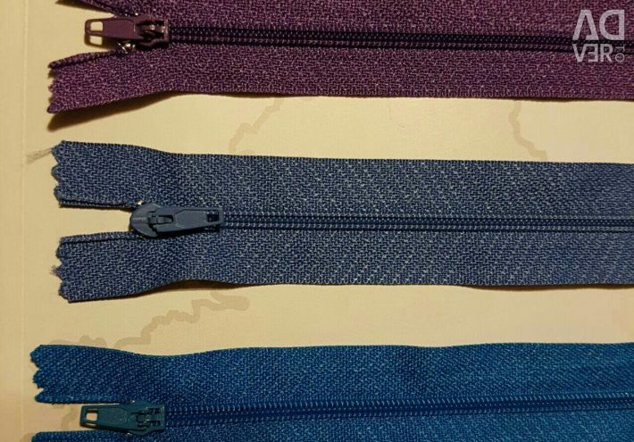 Zipper for clothes