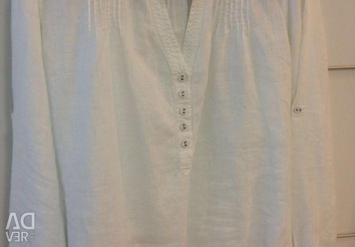 Рубашка льняная р.52-54