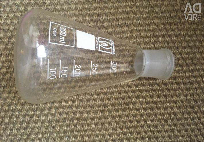 Sticlă de laborator cu temperatură înaltă